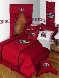 Crimson Tide  MVP  Bedding Comforter and Sheet Set L K