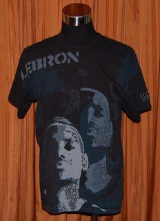 Lebron James L23 Nike Black Cavs T Shirt Mens Medium