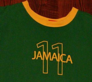 Jamaica Puma Soccer Futbol T Shirt L