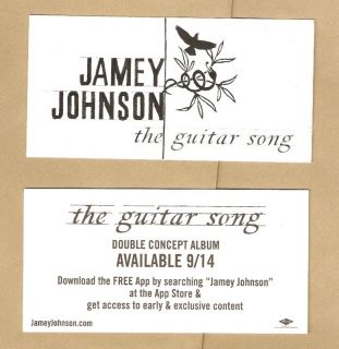 Jamey Johnson Guitar Song Case Amp Car RARE Sticker