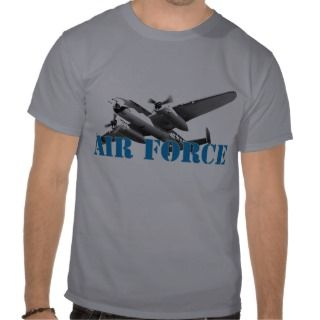 Air Force Aircraft Tee Shirts