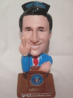 PROMO ONE DOLLAR MITT ROMNEY HEY OBAMA PRESIDENTIAL BOBBLE FINGER