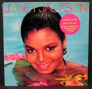 Janet Jackson Janet Jackson Still SEALED Original Sticker on Shrink
