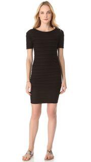 James Perse Gradient Stripe Mini Dress