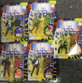 Action Figure Set 1997 Movie Alien Jay Kay New Lot Galoob