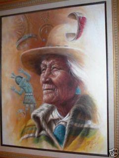 Navajo Silversmith Painting James King