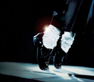High Quality Michael Jackson Crystal Legging Socks Pair