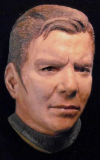 William Shatner Life Mask as James Tiberius Kirk