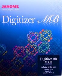 Janome Digitizer MB V3.0   Embroidery Software