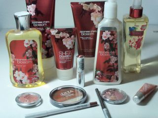 Body Works Japanese Cherry Blossom Plus Ulta Cosmetics Great Gift Set