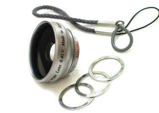 Wide Angle Fisheye Fish Eye Lens for Digital Camera Japan Made