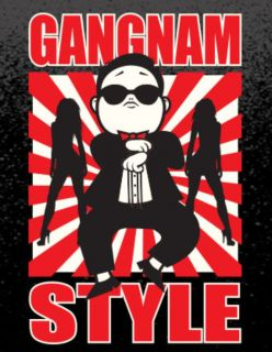 James Bond 007 Gangnam Style T Shirt Psy P s Y K Pop Korean Music Oppa