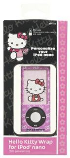 Hello Kitty Pink iPod Nano 5g Case Cover Official New