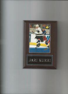 Jari Kurri Los Angeles Kings La Plaque Hockey NHL