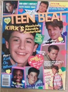 Teen Beat April 1987 River Phoenix Kirk Cameron Jason Bateman