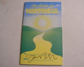 Jason Behr Autographed Happiness Book Actor Roswell TV