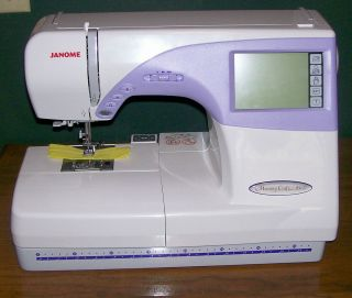 Janome Sewing & Embroidery Machine # 9500 Memory Craft All Accessories