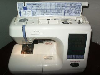 Janome Memory Craft 10000 Sewing and Embroidery Machine MC10000