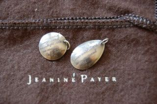 JEANINE PAYER NECKLACE sterling silver + hand engraved with Japanese