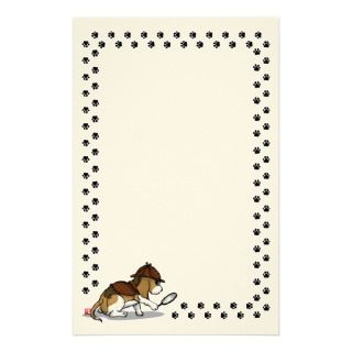 Detective Beagle Stationery