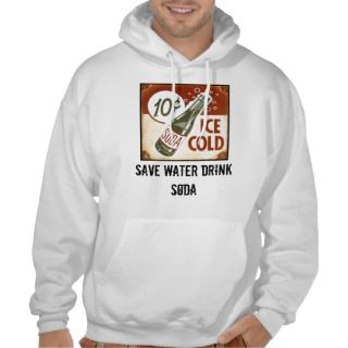 save water drink soda pullover