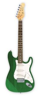 Jay Turser JT 300 TMG Double Cutaway Electric Guitar Trans Moss Green