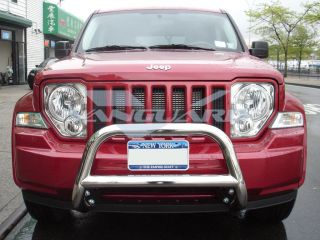 08 12 Jeep Liberty Front Bull Bar A Bar Grill Guard Bumper Protector s