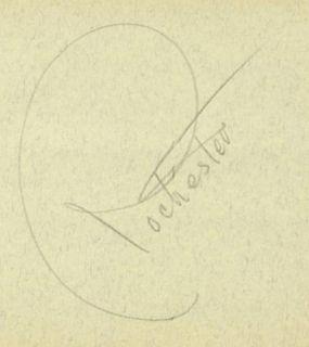 Rochester Eddie Anderson Vintage 1930s Original Signed Album Page