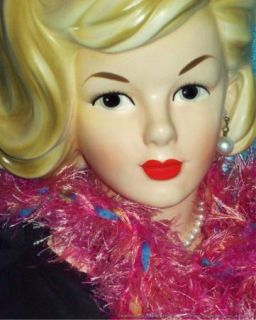 Huge 9 Parma Teen Head Vase Headvase 50s Pop Star Sandra Dee