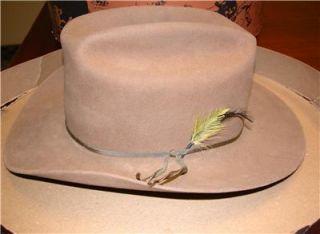 Stetson Hat Worn by Jay Silverheels Star of The Lone Ranger