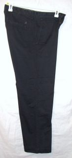 Haggar Life Khaki Mens Size 32x30 Relaxed Fit Dark Gray Pants