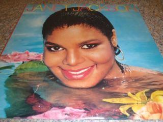 Janet Jackson s T Self Titled 1982 Debut Vinyl Album