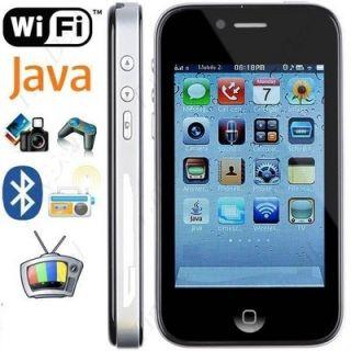 4TH unlock 3 5 2 SIM Card Dual Camera Touch Mobile phone FM  JAVA