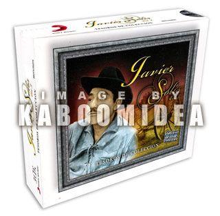 Javier Solis Tesoros de Coleccion Vol 3 3 CD New Seal Exitos Lo Mejor
