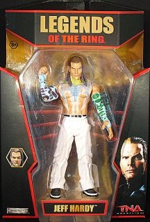 Jeff Hardy TNA Legends of The Ring Exclusive Toy Figure