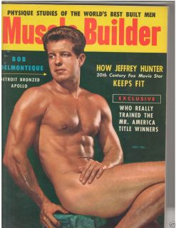 Bodybuilding Fitness Mag Bob Delmonteque Jeffrey Hunter 10 54