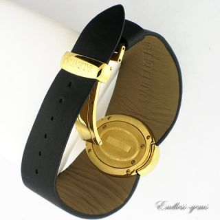 Valentino Seduction Collection Ladies Watch Black and Gold Swiss
