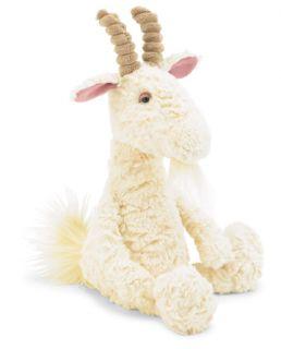Jellycat Furryosity Goat Stuffed Animal Plush New