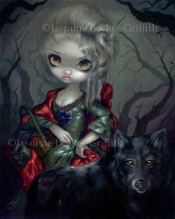Jasmine Becket Griffith art BIG print SIGNED Loup Garou: Le Petit