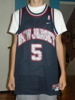 Vintage Nike Jason Kidd Jersey Nets Adult Medium Long
