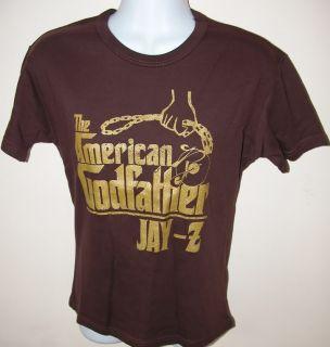Jay Z American Gangster Tour T Shirt Rap Hip Hop Tee M