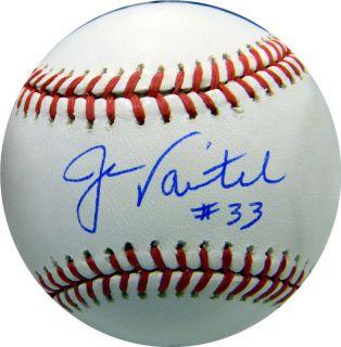 Jason Varitek Autographed OML Baseball Boston Red Sox