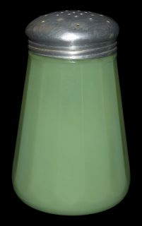 Jeannette Jadite 2051 Depression Glass Sugar Shaker