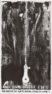 Listed American Artist Jasper Johns Original Lithograph