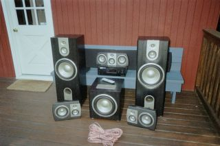 JBL Studio Series Speakers and Subwolfer