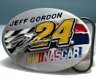 Jeff Gordon NASCAR 3D Heavy Duty Belt Buckle