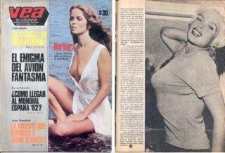 Barbara Bach John Kennedy Jayne Mansfield Lorna Luft