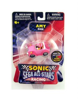 Sega All Star Racing Sonic The Hedgehog Mini Amy Rose Jazwares