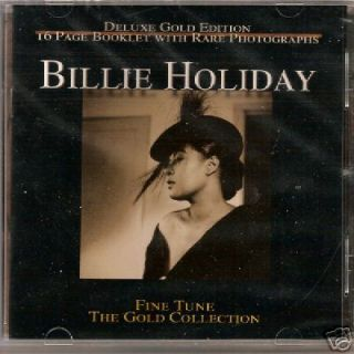 of Billie Holiday Swing Vocal Jazz Blues Music CD 076119110428