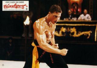 Bloodsport Original AH Foto Jean Claude Van Damme Super